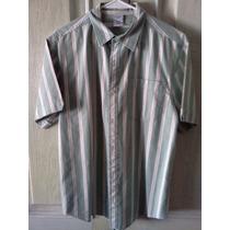 Camisa Old Navy. Verde. Talla Xxl De Joven. 100% Original.