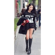 Sexy Blusa Moderna Nyc Moda Japonesa Promocion
