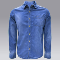 Camisa Mezclilla Casual Cm100a119