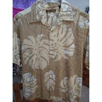 Camisa Cubavera Original En Talla L.