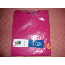 Playera Manga Larga Color Fucsia, Marca Gutulo
