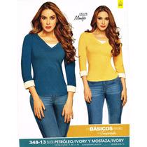348-13 Blusa De Dama