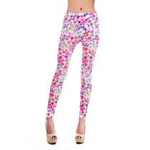 Eisuku 17197 Leggings Estampados Floral Moda Asia $199