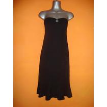 Vestido Straples Negro Talla 8