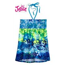 Si Envio Blusita Justice 8 Anos Azul Blusa Nina Jovencita