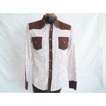 Camisa Vaquera Marca Panino M/l Alg 100% Mod 5118-6 E-shop