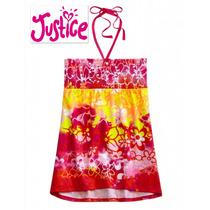 Blusita Justice 12 Anos Rosa Blusa Nina Hermosa 100% Origina