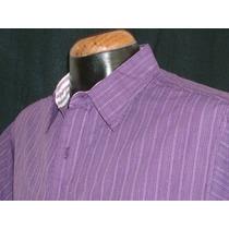 Camisa Rayas Marca Panino M/c Alg 100% Mod 5732-7 E-shop Ndd