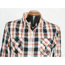 Camisa Cuadros Marca Panino M/l Alg 100% Mod 5911-6 E-shop