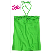 Envio Blusita Justice 18 Anos Verde Blusa Nina Jovencita Dam