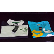 Polo Tommy Hilfiger & Playera Hollister