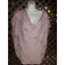 Forever Original Blusa Color Rosa Viejo Talla Chica