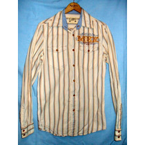 Camisa Pullandbear Tipo Western Talla Xs