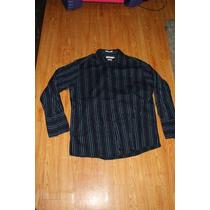 Camisa Calvin Klein Talla 17 32-33 Slim Fit Mancuernas