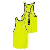 Victorias Secret Blusa Amarilla Tipo Tank Grande Amyglo