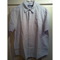 Camisa Nautica. Rayas. Talla Xl. 100% Algodón. 100% Original