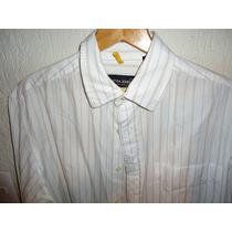Camisa Nautica Jeans Co. Blanca Como Nueva Talla L