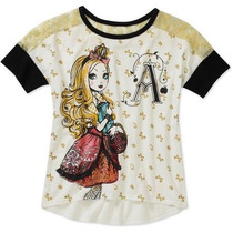 Blusa Americana Ever After High Talla 10-12niña Envio Gratis