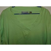 Blusa Liz Claiborne Tipo Sweater Ligero Dama Talla Amplia 3x