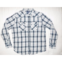 Camisa Vaquera Old Navy Slim Fit Original Seminueva