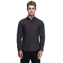 Camisa Ax Armani Exchange (indigo Plaid ) Med 100%original