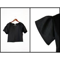 ¡oferta! Blusa Negra Grunge Punk Goth