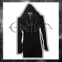 Camisa Eretica Terciopelo Con Escarolas.dark,gotico,hombre 1