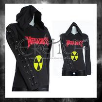 Blusa Eretica Estampada Megadeth.metalera,rockera,punk,dark
