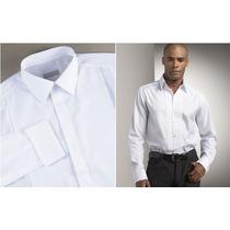 Camisa Blanca Calidad Premium 50-50 Uniformes Casual Etc