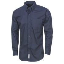 Camisa Gabardina Caballero Azul Marino