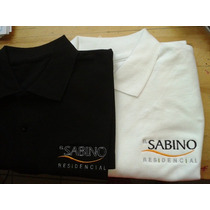 Playeras Tipo Polo Bordadas