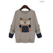 Suku 70306 Sueter Decorado Buho Moda Japón $679