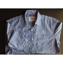 Camisa Botón Manga Larga American Eagle !!