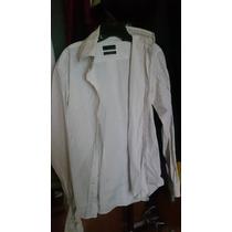 Camisa A Rayas Zara Man Talla M 38