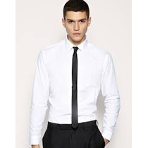 Camisa Ideal Traje Haggar Blanca Tallas Extras 2xl Corte Fit