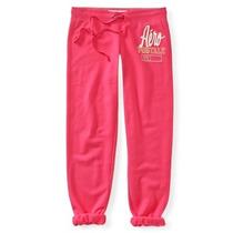 Aeropostale Pants Rosa Capri Para Dama 100% Originales