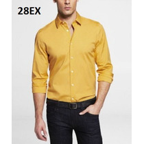 S, M - Camisa Express Amarilla Ropa De Hombre 100% Original