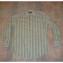 Excelente Camisa De Vestir Lob Mens 100% Original
