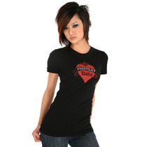 Hot Topic Blusa Pussycat Dolls Black Girls T-shirt M
