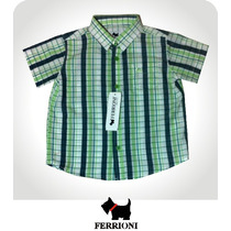 Camisa Para Niño Talla 2 Original Ferrioni