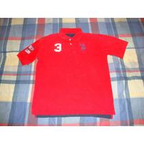 Camisa Polo Uspa Usa-england 100% Original