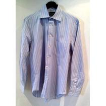 Camisa De Vestir Massimo Dutti - Fashionella - L16-34