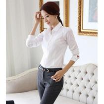 Blusa Top Oficina Camisa Moda Importada Asiática