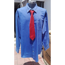 Camisa Ideal Traje Lands End Tallas Extra 4xl Cuello 20-20.5