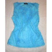 Blusa Nueva Azul Electrico Tela Suave Y Fresca Talla Ch Mdn