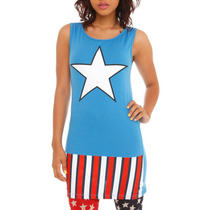 Hot Topic Blusa Capitan America Marvel Comics