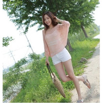 Suku 11606 Blusa Tipo Chal Tejida Elegante Moda Asia $539