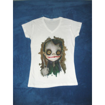 Blusa Camiseta Dark Knight Joker Guasón Batman