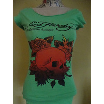 Ed Hardy Forever Rock Blusa Para Dama #s