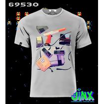 Playeras O Camiseta Vinatge Juegos Arcade 100% Algodon